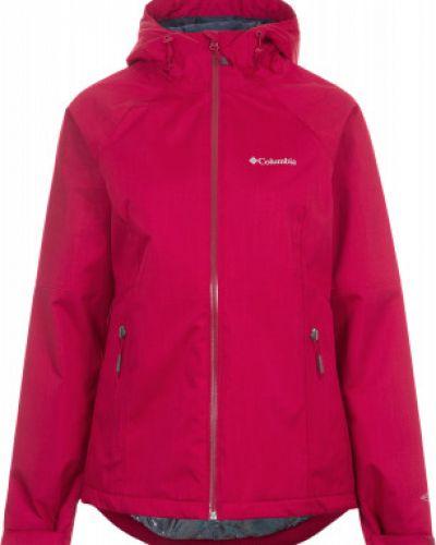 Утепленная куртка с капюшоном водонепроницаемая спортивная Columbia