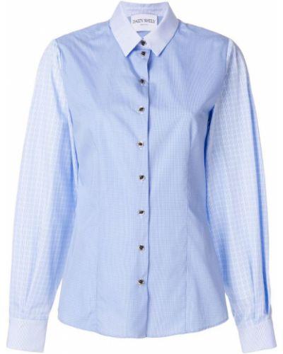 Классическая рубашка синяя Daizy Shely