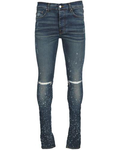 Niebieskie mom jeans Amiri