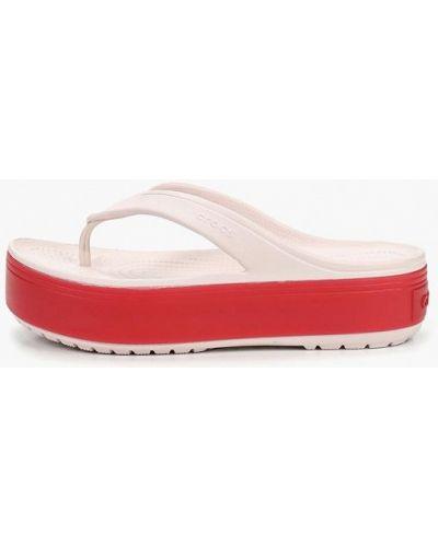 Сланцы розовый пляжные Crocs