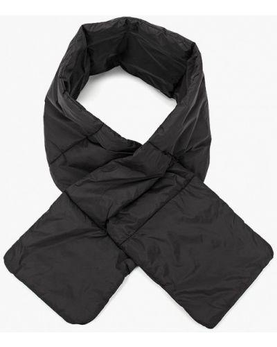 Черный шарф осенний Keddo