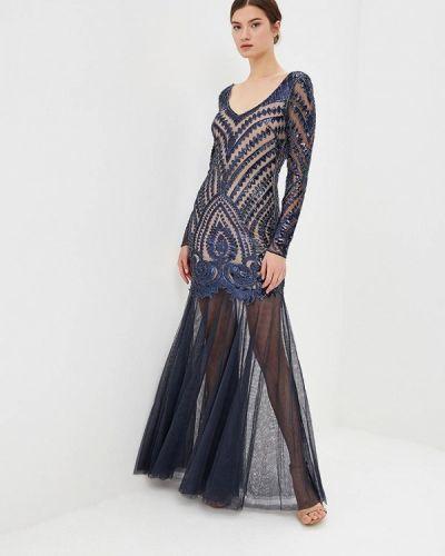 Вечернее платье синее Jan Steen