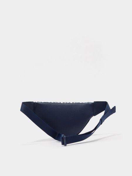 Поясная сумка - синяя Tommy Hilfiger