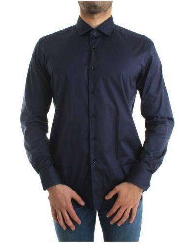 Niebieska klasyczna koszula Xacus