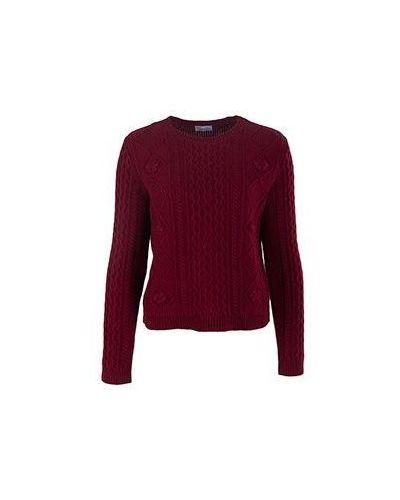 Красный джемпер шерстяной Valentino Red