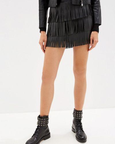 Кожаная юбка Liu Jo