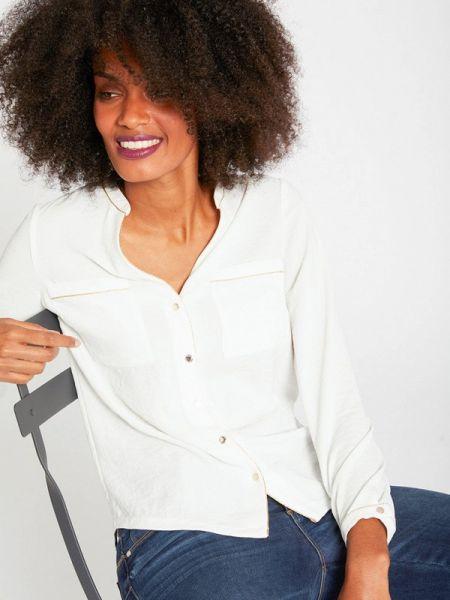 Блузка с длинным рукавом белая весенний Morgan