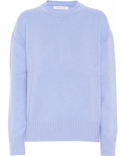 Кашемировый синий свитер Ryan Roche
