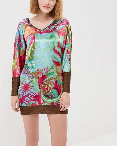 С рукавами блузка Custo Barcelona