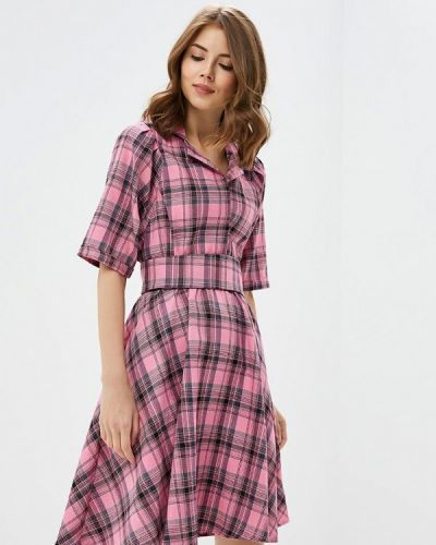 Платье розовое осеннее Love & Light