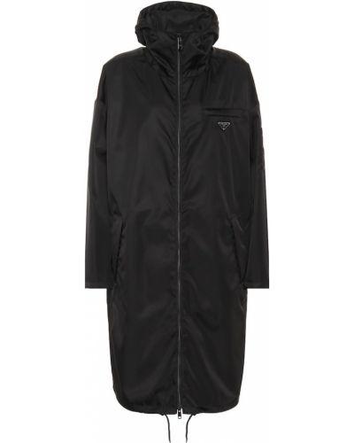 Пальто с капюшоном Prada