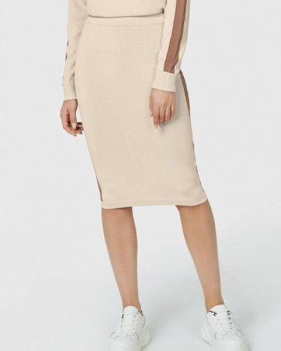 Зауженная юбка - бежевая Pompa