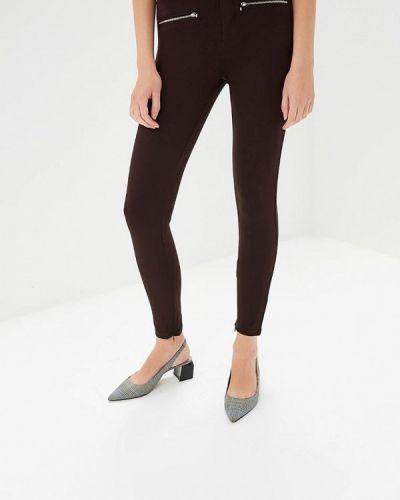 Коричневые брюки повседневные Bruebeck