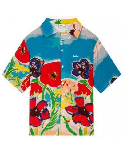Niebieska koszula Drole De Monsieur