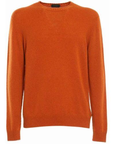 Sweter - pomarańczowy Zanone