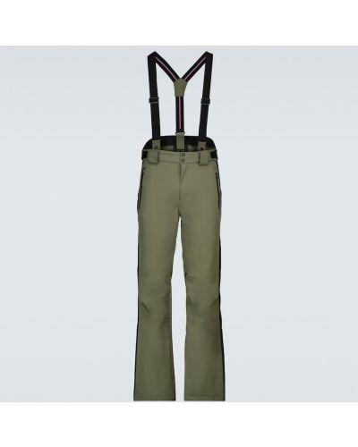 Zielone spodnie Fusalp