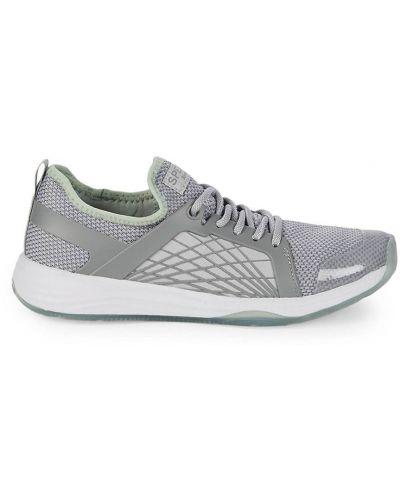 Sneakersy na platformie na obcasie materiałowe Sperry