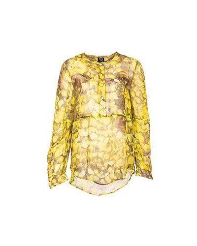Желтая блузка вечерняя Mcq