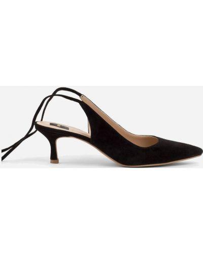 Туфли на каблуке - черные Melly