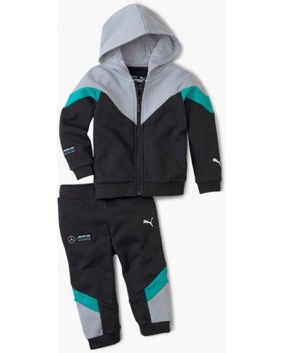 Костюмный черный спортивный костюм Puma