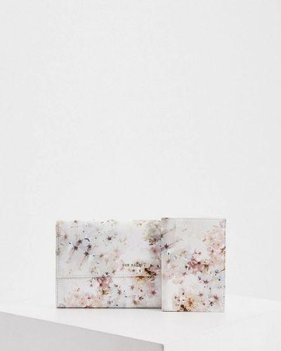 Кожаный кошелек - белый Ted Baker London