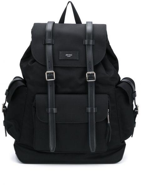 Skórzany plecak na paskach Jimmy Choo