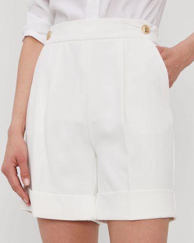 Białe szorty materiałowe casual Marciano Guess