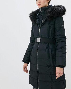 Зимняя куртка утепленная черная Dkny