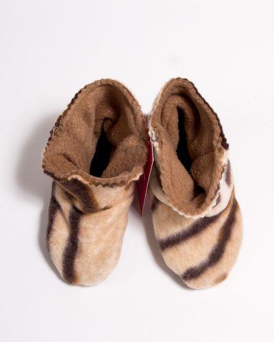 Тапочки теплый коричневый Lacywear