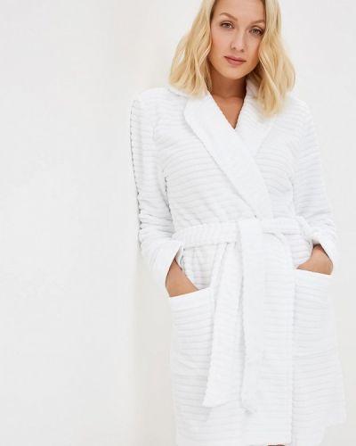 Белый халат домашний Deseo