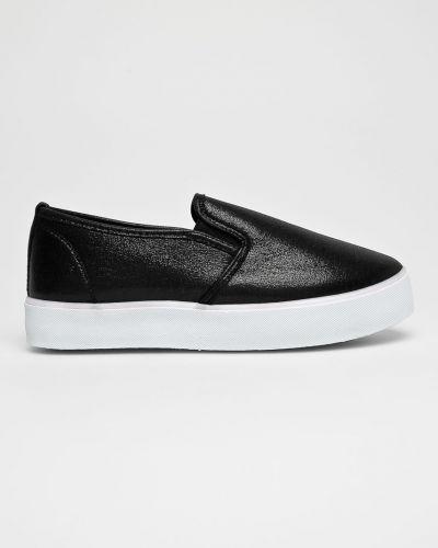 Черные кроссовки текстильные Answear