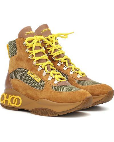 Ботинки трекинговые замшевые Jimmy Choo