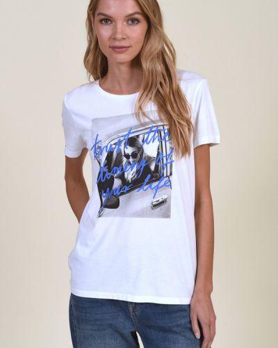 Хлопковая футболка Marc Aurel