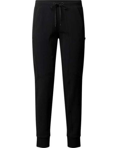 Czarne spodnie dresowe Cambio