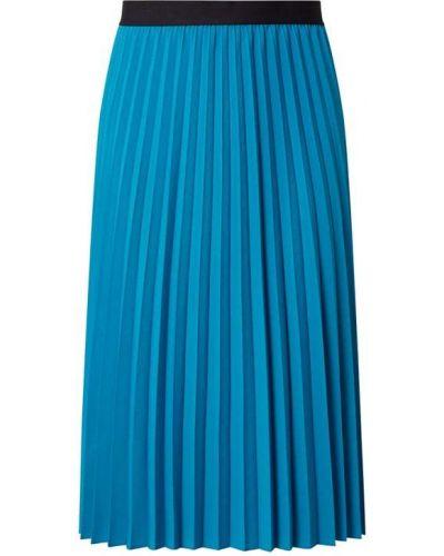 Niebieska spódnica midi rozkloszowana Comma