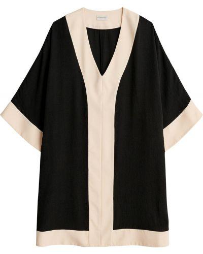 Czarna bluzka By Malene Birger