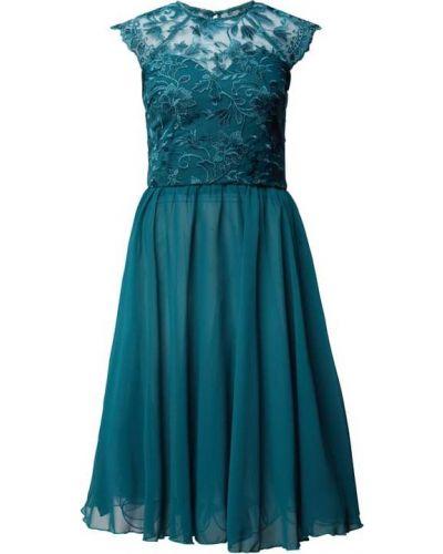 Sukienka koktajlowa - turkusowa Chi Chi London