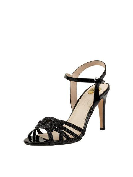 Sandały na szpilce - czarne Buffalo