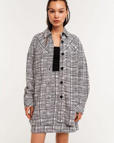 Пиджак твидовый - черный Befree