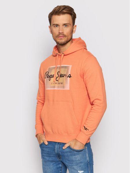 Bluza - pomarańczowa Pepe Jeans