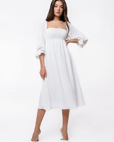 Хлопковое платье - белое Magnetic