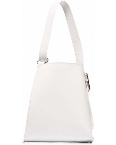 Хлопковая белая сумка-тоут Venczel