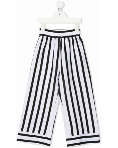 Białe spodnie Monnalisa