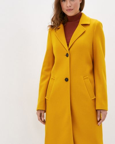 Желтое пальто S.oliver
