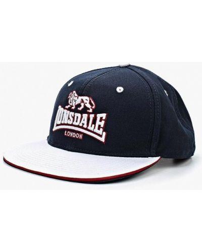 Синяя бейсболка Lonsdale