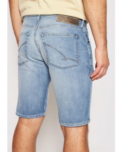 Niebieskie szorty jeansowe Baldessarini