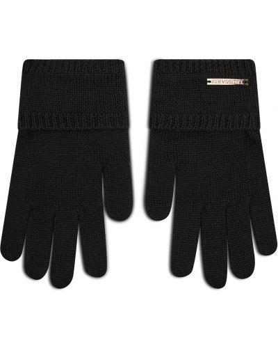 Rękawiczki - czarne Trussardi