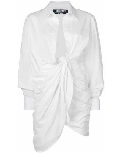 Белый хлопковый платок Jacquemus
