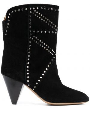 Ankle boots, czarny Isabel Marant