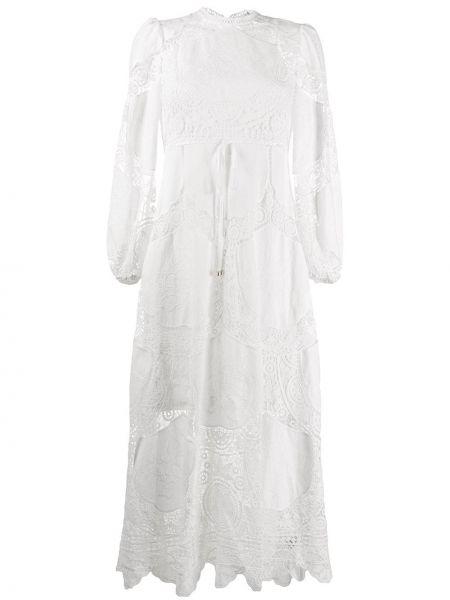 Платье прямое с рукавами Zimmermann